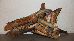 horsehead driftwood by Denise Huber